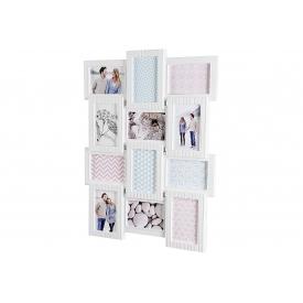 Galerierahmen Skandi Kunststoff 61x46cm weiß
