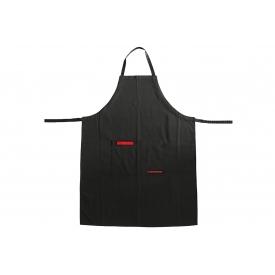 Feuermeister ® Schürze BBQ Textil mit 2Taschen schwarz