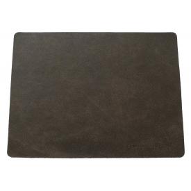 Feuermeister ® Tischset Leder 33x46cm braun
