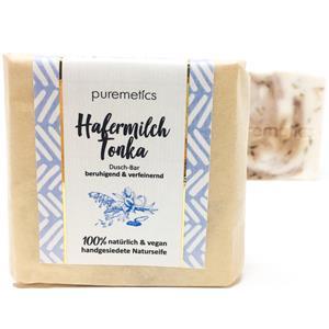 Puremetics Seifen&nbsp Dusch-Bar Hafermilch Tonka