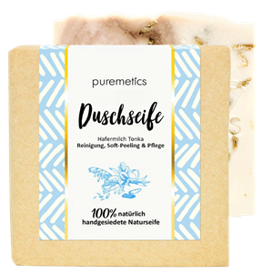 Puremetics Seifen Dusch-Seife Hafermilch Tonka