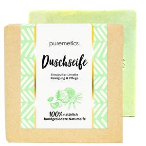 Puremetics Seifen&nbsp Dusch-Bar Sheabutter Limette