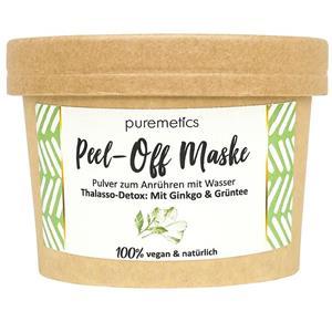 Puremetics Seifen Peel Off Maske Ginkgo Grüntee