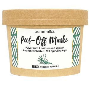 Puremetics Seifen Peel Off Maske Spirulina Alge