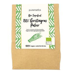 Puremetics Seifen Bio Gerstengras-Pulver (AL)