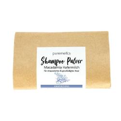 Puremetics Seifen Shampoo-Pulver Macadamia Hafermilch