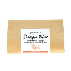 Puremetics Seifen Shampoo-Pulver Macadamia Orange