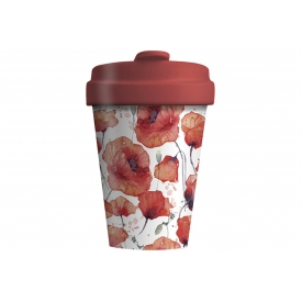 Chic-mic Becher Coffee to go BambooCUP* Poppy Flowers