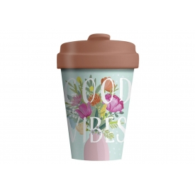Chic-mic Becher Coffee to go BambooCUP* Good Vibes