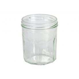 Dosen-zentrale Schraubdeckelglas Facette 324 ml ohne Deckel 82mm TO