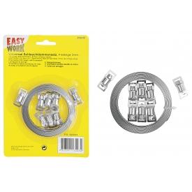 Easy Work EW Universal Schlauchklemmensatz, Fixlänge 3 m