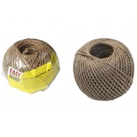 Easy Work EW Mehrzweckschnur, Polypropylen, beige, 1,00mm x 100m