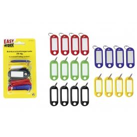 Easy Work EW Schlüsselanhänger, 20-tlg., farbig sortiert