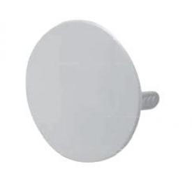 Blass Elektro Steckdeckel für Dose 70mm weiß