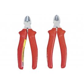 Easy Work EW Seitenschneider, 160mm, schwere rote Handschutzhüllen