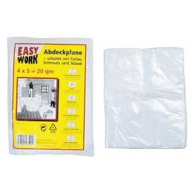 Easy Work EW Malerabdeckfolie 4x5m 0,007mm