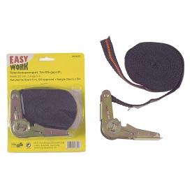 Easy Work EW Ratschenspanngurt, 25 mm x 5 m