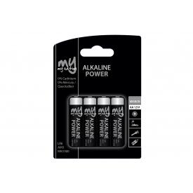 My Edition Batterie Mignon Alkaline Batterie Blister