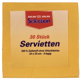 Selection SERVIETTEN PFIR/MAN 3LG