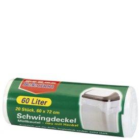Selection Schwingdeckel Müllbeutel 60 l