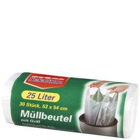 Selection Müllbeutel mit Griff 25l 30 Stück