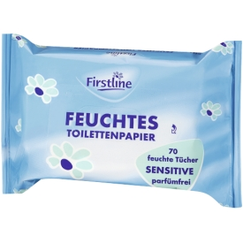 Firstline Feuchtes Toilettenpapier Sensitive