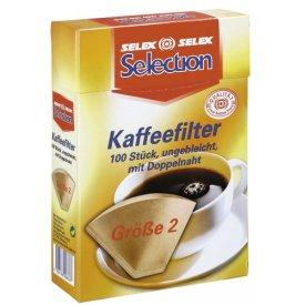 Selection Kaffeefilter Gr. 2 ungebleicht