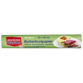 Selection Butterbrotpapier 100 Blätter
