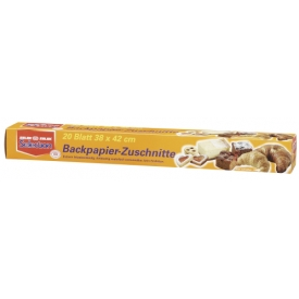 Selection Backpapier-Zuschnitte