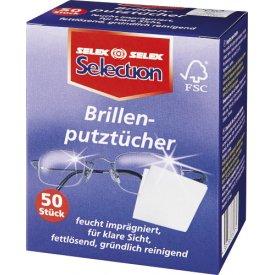 Selection Clean & fresh Brillenputztücher