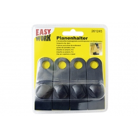 Easy Work EW Planenhalter 4 Kunststoffschraubsegmente