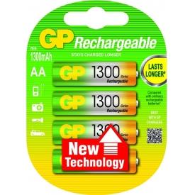 Gp Battery GP NiMh Akku ReCyko+ 2 x Mignon AA 1,3 Ah Blister