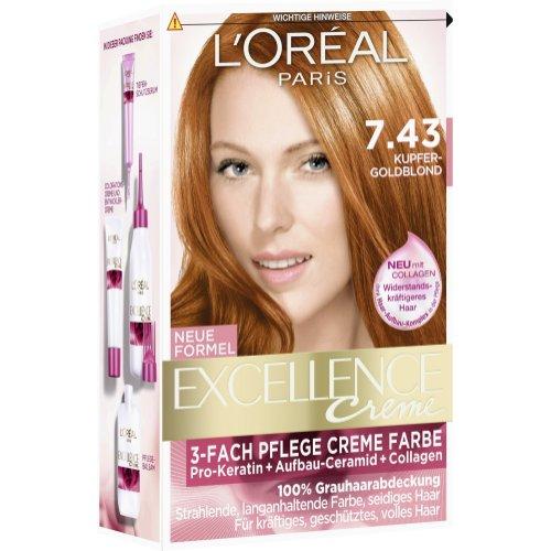 Haarfarbe honigblond loreal