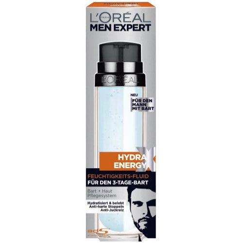 L`Oreal For Men Expert Hydra Energy Fluid für den Bart