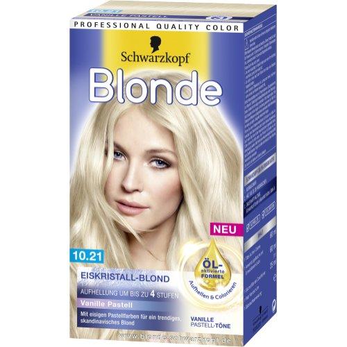 Haarfarbe schwarzkopf blond
