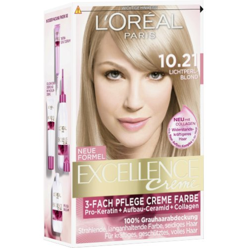 Loreal haarfarbe excellence 10 21