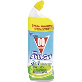 Null Null WC Aktivgel 3in1 Sunny Citrus Fresh Green