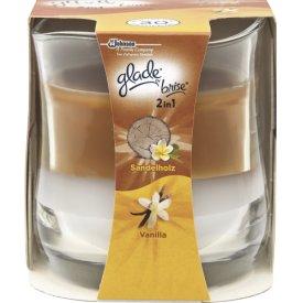 Brise Duftkerze Moments Sandelholz Vanilla im Glas