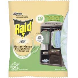 Raid Motten Kissen grüner Tee