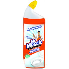 Mr. Muscle WC Reiniger Toilet Power Glanz Kraft