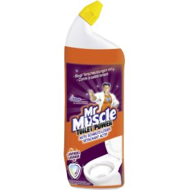 Mr. Muscle WC Reiniger Toilet Power Aktiv Schmutz Löser Lavendel