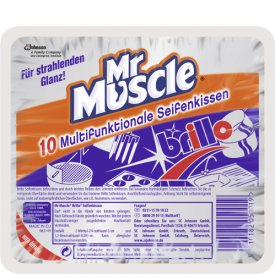 Mr. Muscle Brillo Multifunktion Seifenkissen