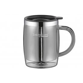 Thermos Isolier-Trinkbecher Desktop Mug TC Edelstahl 0,35 l grau