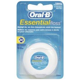 Oral-B Zahnseide Essentialfloss Ungewachst