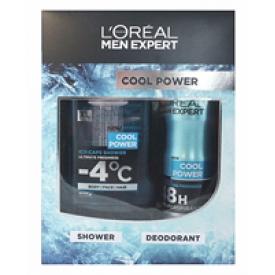L`Oreal Geschenkset Men Expert Duschgel + Deospray Cool Power