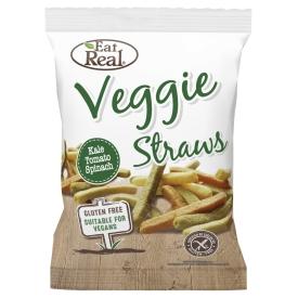 Organic Veggie Straws Stück Eat Real Organic Bio Veggie Straws