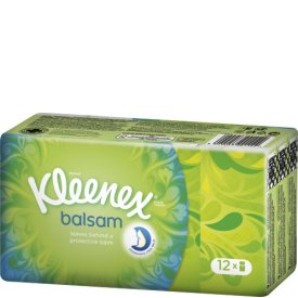 Kleenex Balsam Taschentücher 12x9 Stück