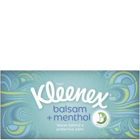 Kleenex Balsam Fresh Taschentücher Box mit Menthol 3-lagig