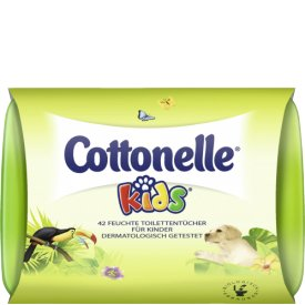Cottonelle feucht Kids Box für Kinder