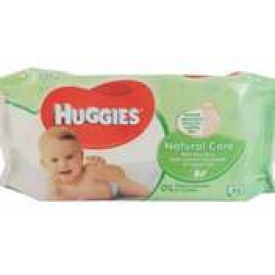 Huggies  Babytücher Natural Care Aloe Vera